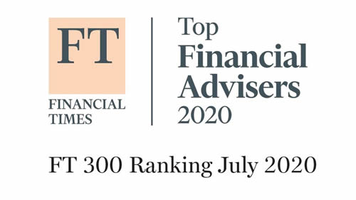 FT Financial Times Top Financial Advisers 2020 FT 300 Banking July 2020 Logo