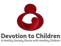 Devotion to Children A Health Society Starts with Health Children logo